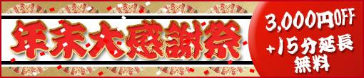 2014年 年末大感謝祭 継続・【第二弾】開催!!【メルマガ会員様限定】